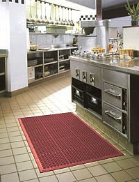 Safety-conscious Workmate matting makes prevention even better value than cure